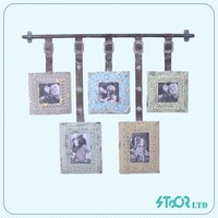 Wholesale vintage wall decoration photo frame shop