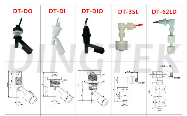 2016 float switch water level control float type fuel level sensor mini float level switch