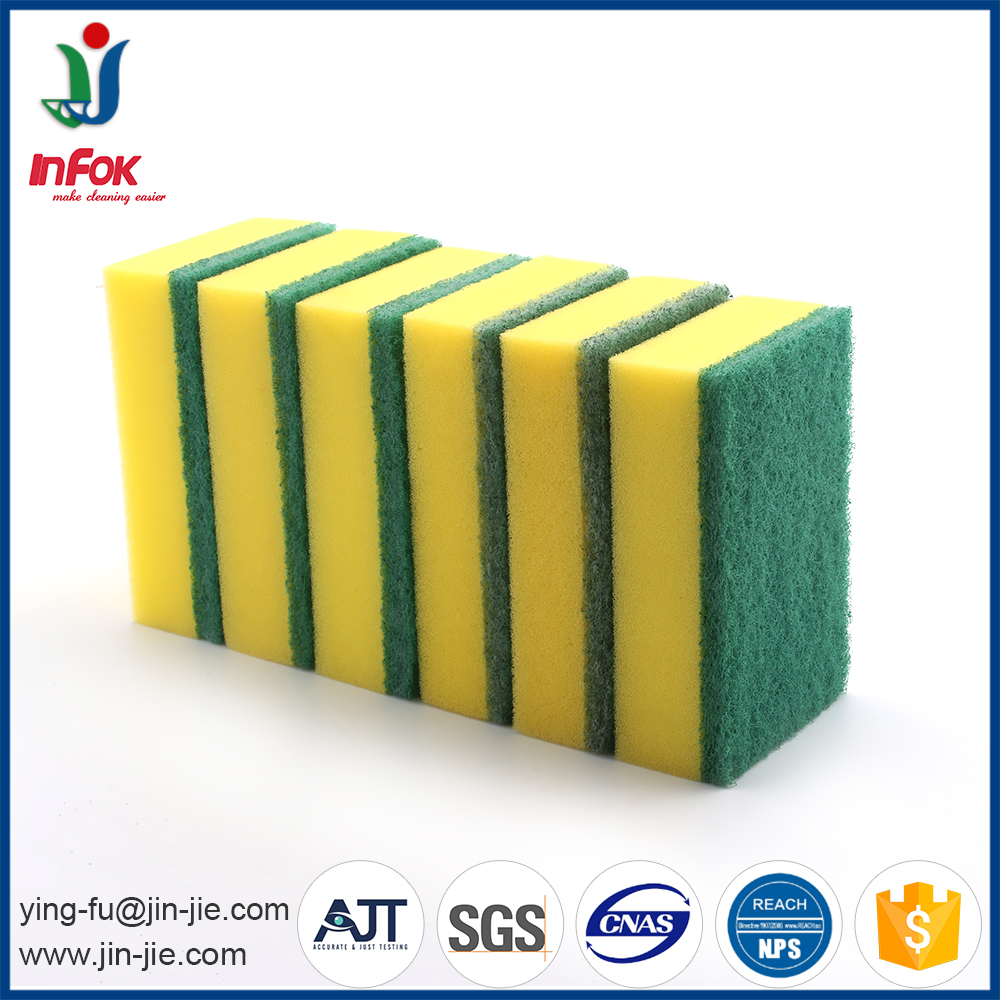 White Scouring Pad Magic Sponge For Kitchen Cleaning