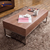 Modern pulchritude artificial board top stainless steel side table