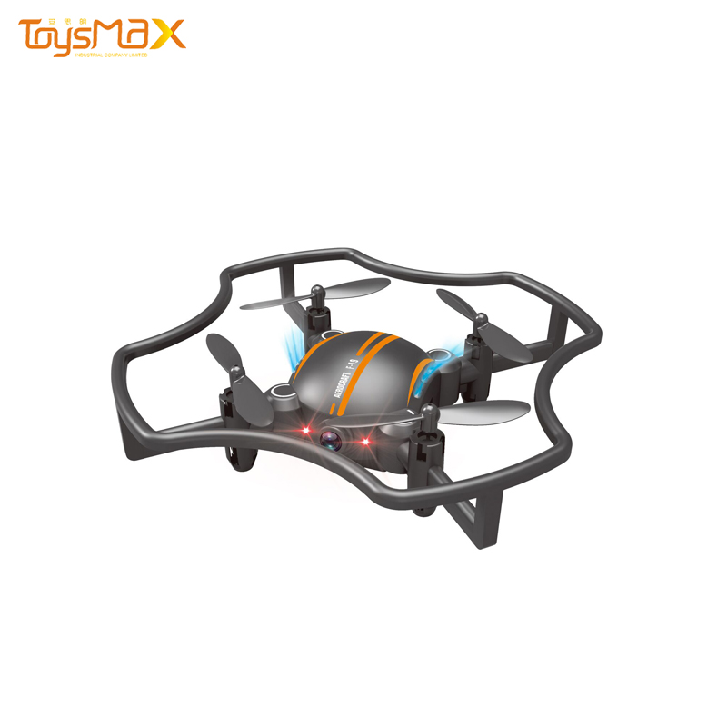 2.4G R/C 4ch Flying Drone Quadcopter Fold Drone HD Camera