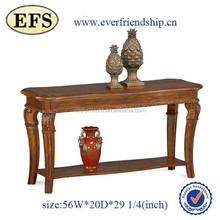 unique charming top quality solid wood carved console table cheap side tables
