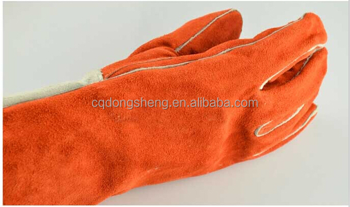 High Quality Cow Split Leather Welding Glove 100g 3m Thinsulate ...