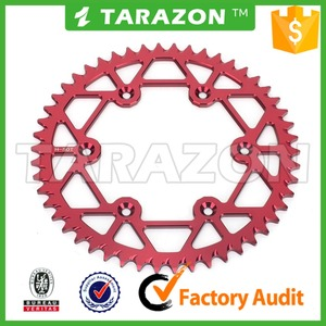 high strength driven motorcycle parts for honda shine sprocket chain kits