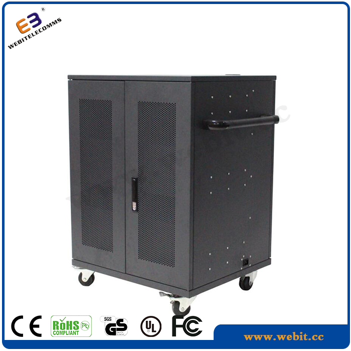 40 Slots,USB 2.0 Power Sockets,Charging For Laptops,Ipad,Steel Material Strolly Charging Cabinet