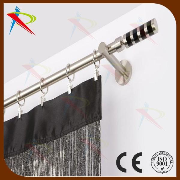 Curtains Ideas black curtain finials : Wholesale 2015 economical design Fancy Chrome & Black curtain ...