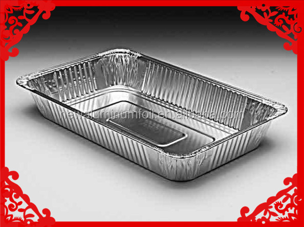 disposable aluminium foil trays/ tin foil food container