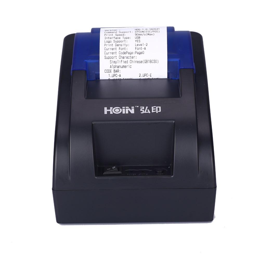 Hoin New Hop-h58 Cheap Usb 58mm Mini Receipt Thermal Printer With Usb Port  Linux Driver - Buy Cheap Usb 58mm Printer,Thermal Receipt Printer With