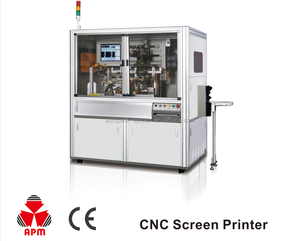 Hot Sale New 360 Degree Rotation Auto Screen Printing Machine For Plastic/Glass Bottles And Caps