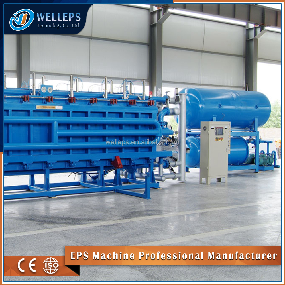 Best selling eps slabs moulding styrofoam insulated concrete forms machine 3d panel is used for affordable housing