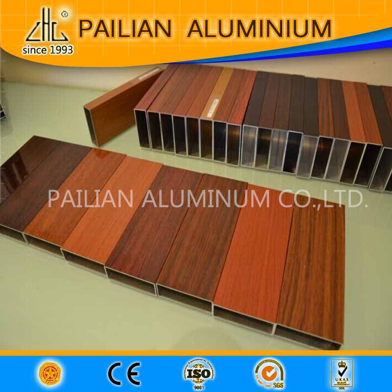 WOW! Aluminum woody profiles for door and window, Wood Grain Finish Tilt Turn Window Aluminum Clad Sunroom Profile