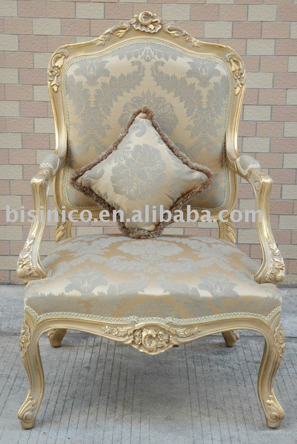 French Living Room Single SofaArm ChairsHand Carved Wooden FrameMoq1pcb Buy Arm ChairSofa ChairArmchair Product on Alibaba