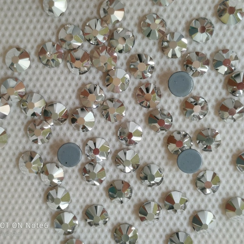 austrian quality hotsale fashion ss20 5mm crystal ab hot fix rhinestones  for handicrafts e602059228ae