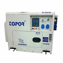 Lowest price 7000W 7KW portable diesel silent generator,8kva silent type