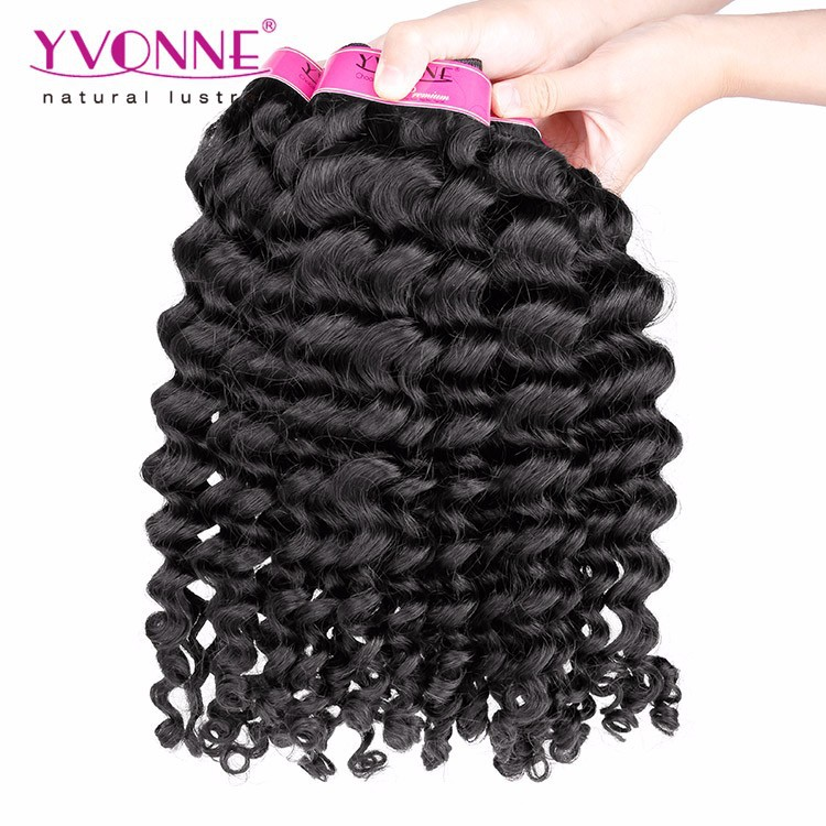 Indian Hair 10-28 Inchs Deep Wave Wholesale Human Hair
