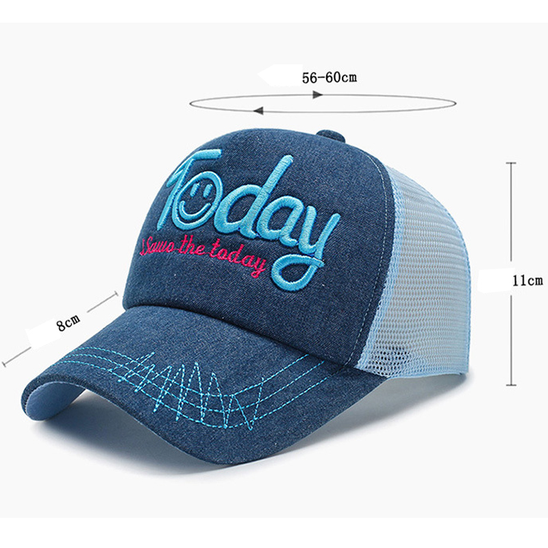 Quick Dry Cap Baseball Cap Snapback Mesh Summer Hip-Hop Casual Hats