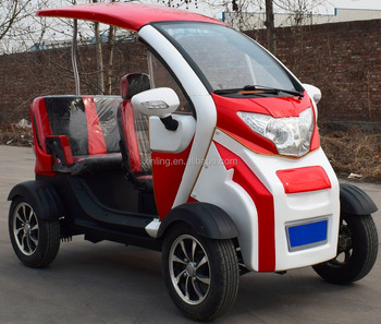 Chinese Mini Electric Golf Car With Passenger 2 Seats Club Cart