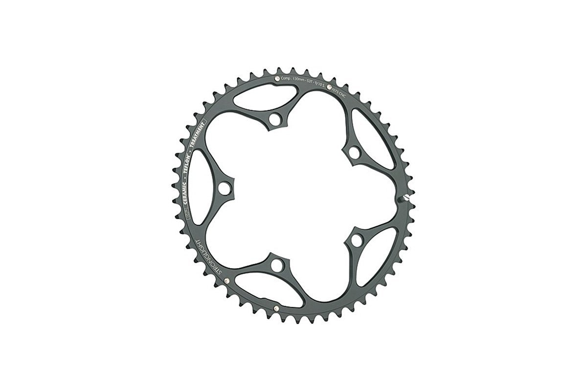 Stronglight CT2 Ceramic Teflon Black 130mm Shimano Standard Chainring - 40T (272602)