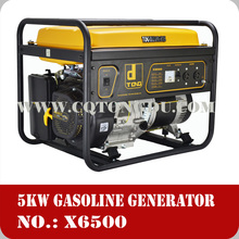 2kw-5kw home use portable gasoline natural gas lpg generator