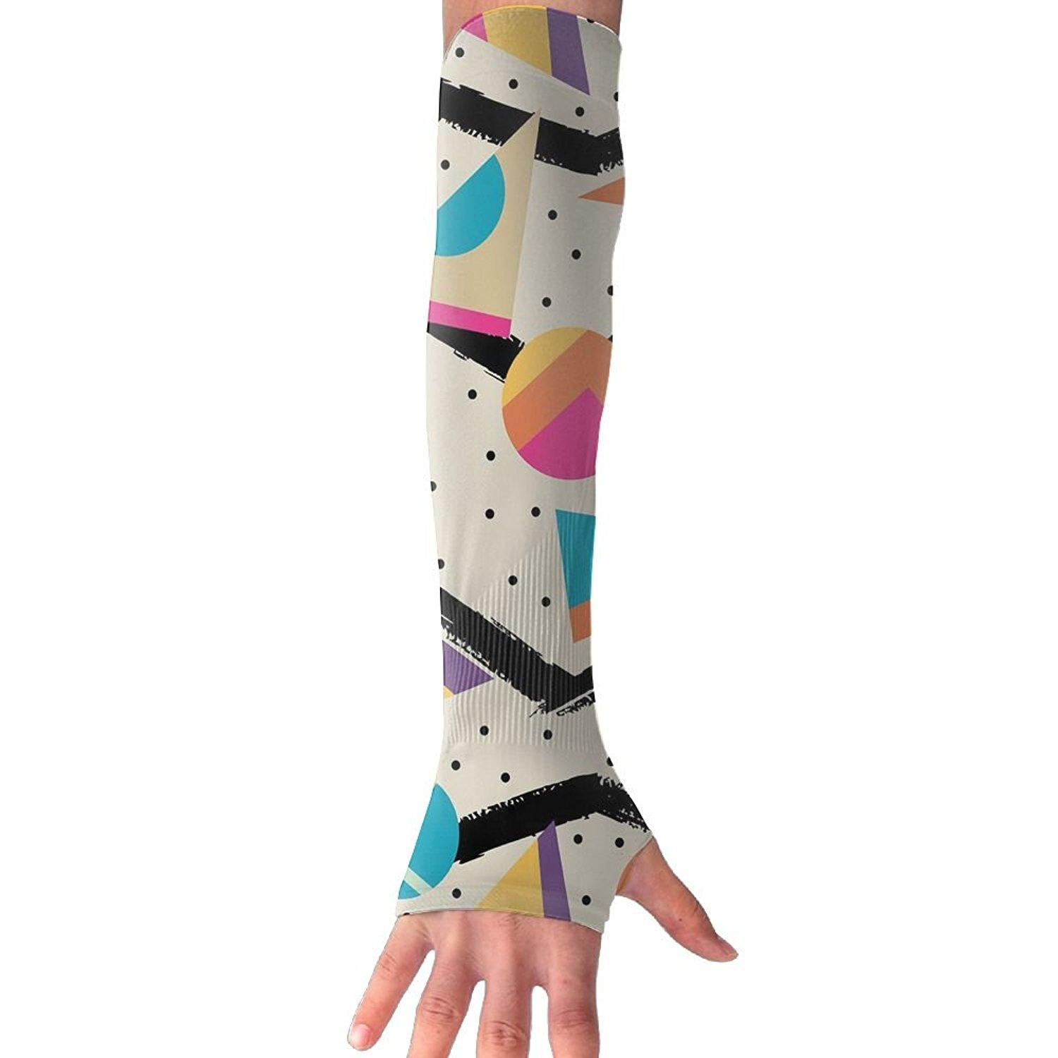 Men's Arm Warmers Hot Sale 1pc Unisex Fashion Summer Elastic Temporary Arm Sleeves Sunscreen Arm Warmer Cycling Sports Tattoo Sleeves Uv Cool Arm Sleeves Men's Accessories