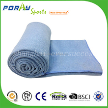 Supreme suede microfiber towel for sport yoga and pilates