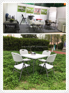 modern design plastic card table and chairs set