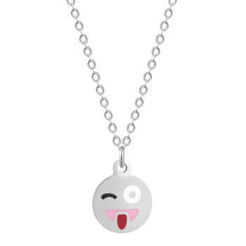 Inspirational emoji smiley face charms necklace in yiwu zhejiang inspirational emoji smiley face charms necklace in yiwu zhejiang aloadofball