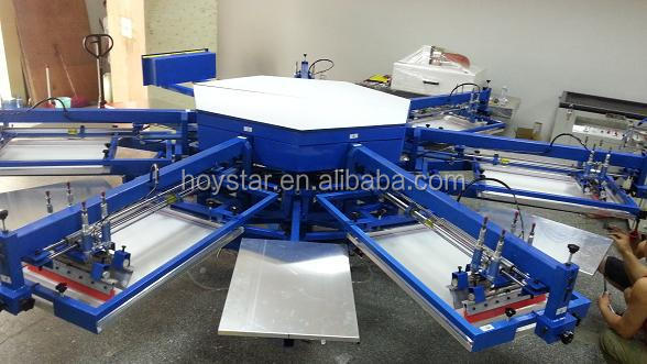 automatic silk screen machine