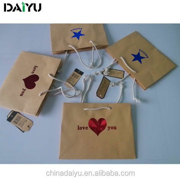 Best price custom Logo printed paper bags various sizes