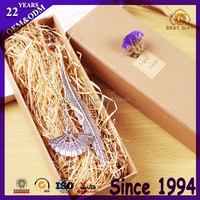 Book Sets Nickle Plated Metal Bookmark With Box