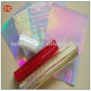 Laser hot stamping foil widely used in paper/plastic packaging