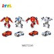 wholesale intelligent turning shape mini diy car transform robot toy for boy