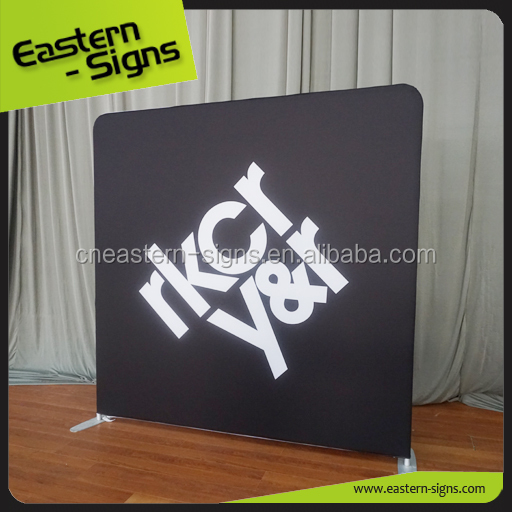 Top Quanlity Straight Backdrop Tension Fabric Display pop up display stand