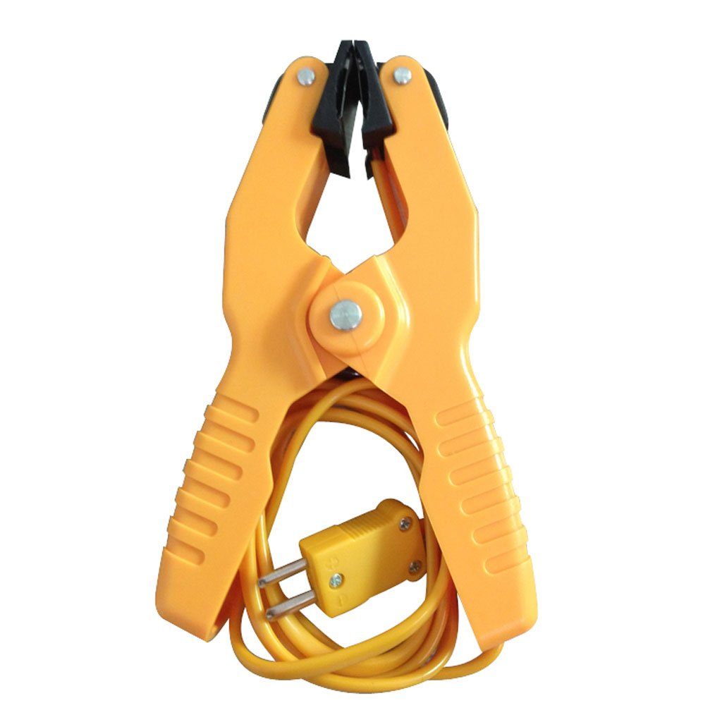 Cheap Gi Pipe Clamp Find Deals On Line At Alibabacom Through Electrical Wiring Thickness For Class C Buy Get Quotations Type K Temperature Lead Probe Hvac Pipes Jaw Clip Plumbing