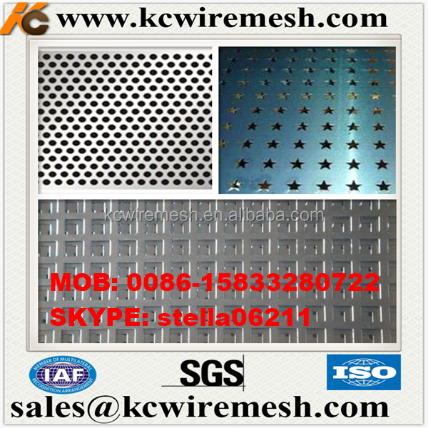 Factory!!!!!! Cheap!!!!!! KANGCHEN Perforated Sheet Metal Decorative with artistic style /perforated steel plank/lowes perforate