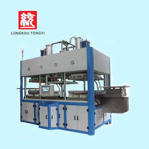 Sugarcane Bagasse Pulp Disposable Food paper lunch box forming machine