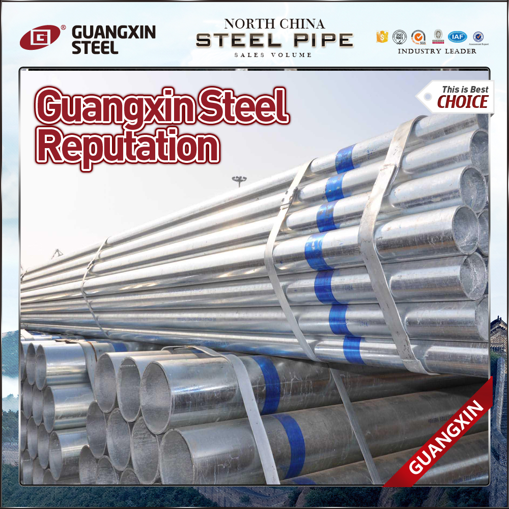 schedule 40 pipe zinc gi pipe erw water supply building material construction pipe