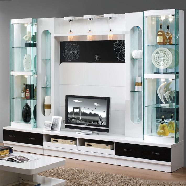 Modern Wooden 55 Inch Tv Wall Unit Design Furniture 101