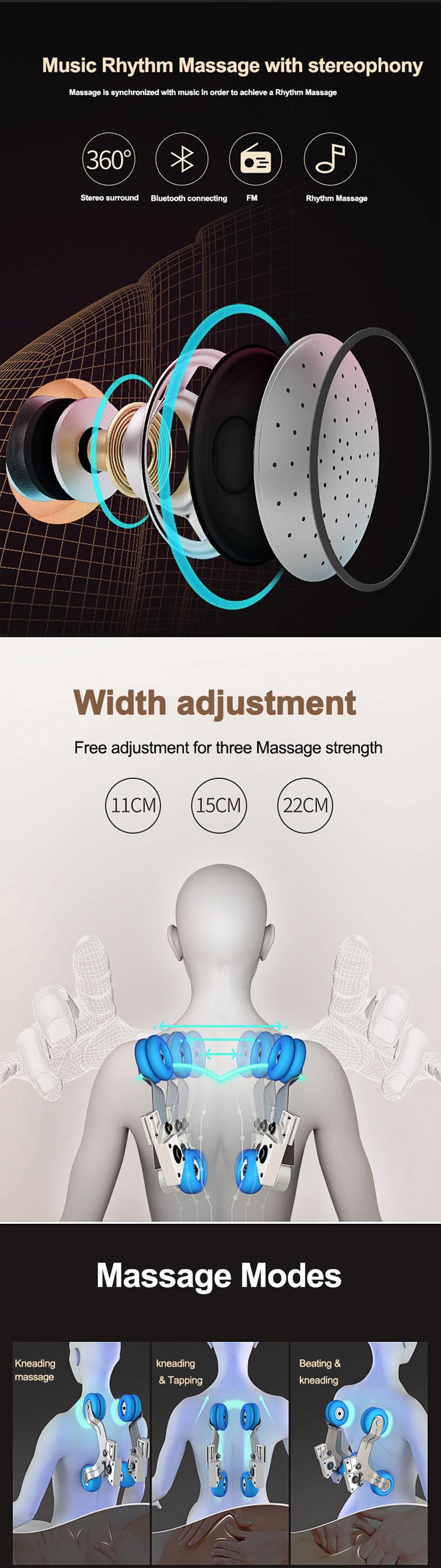 最高の電気ペディキュア快適な空気圧美容健康マッサージチェア