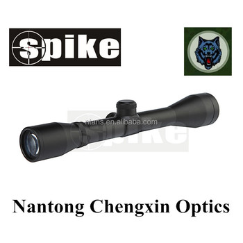 Spike Riflescopes Optics 4x40 Mm Fixed Power Tactical Rifle Scopes For  Hunting Rifles/shooting/air Guns - Buy Optics Rifle Scope,Riflescopes