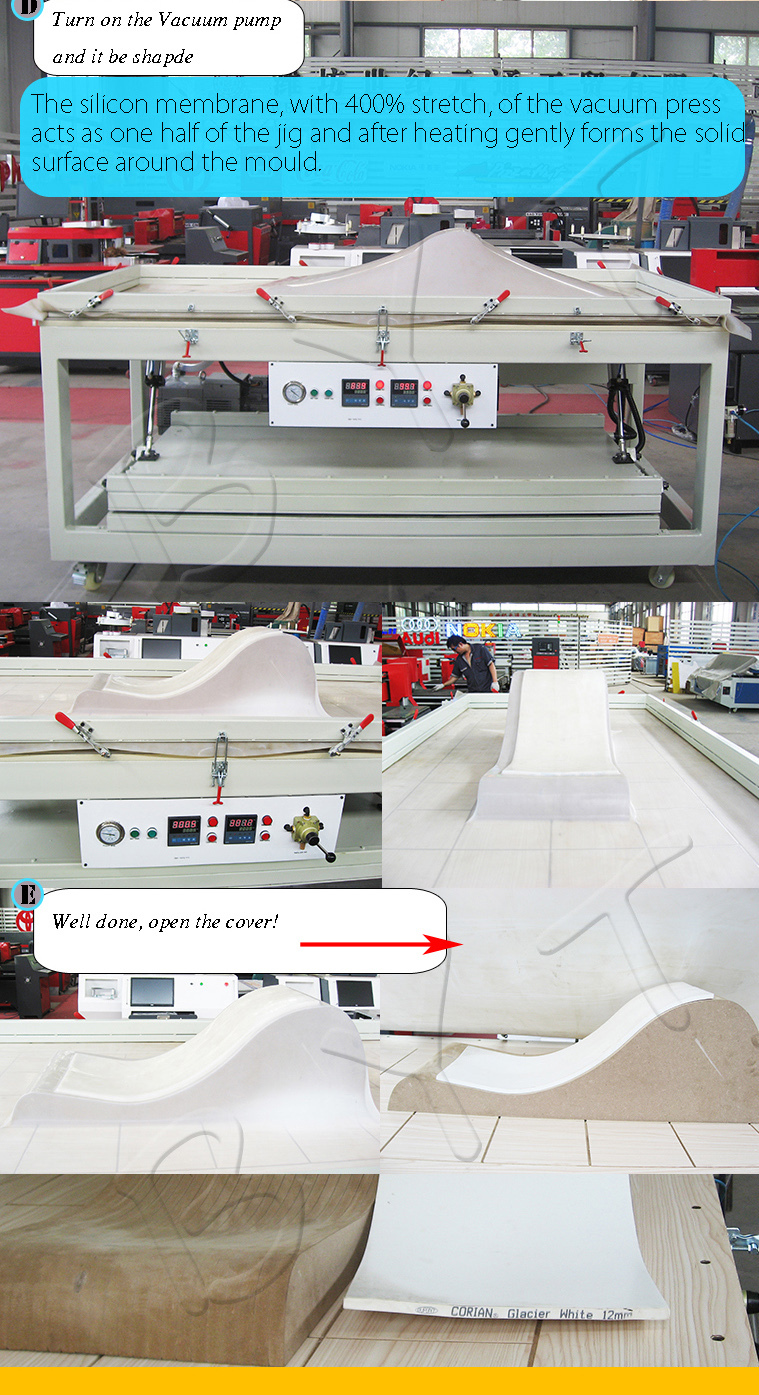 Solid Surface Thermoforming Machine Corian Machine Acrylic