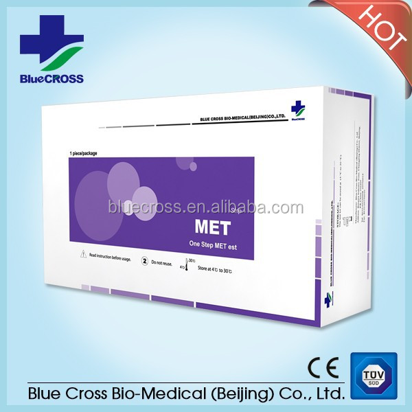 Best-Selling MET Test Urine Strip Cassette DOA Test With CE