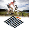 48PCS Rubber Puncture Patches Bicycle Motor Tire Tyre Glue Repair Kit Tool