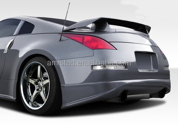 auto part trunk spoiler for nissan 350z w o led 2003 2005 buy trunk spoiler for nissan for. Black Bedroom Furniture Sets. Home Design Ideas