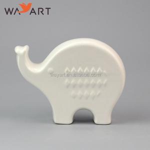 Porcelain Elephants Figurines, Porcelain Elephants Figurines