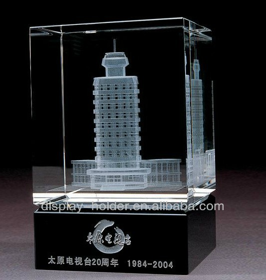 3d crystal laser engraving gifts