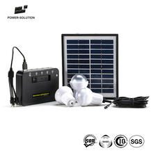 2016 solar power generator with three led bulbs for home use and 3 days fast delivery