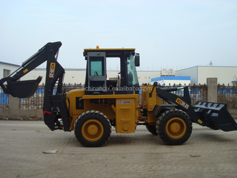 XCMG Backhoe Loader WZ30-25 For Sale/1.0 CBM Bucket/0.3 CBM Digger