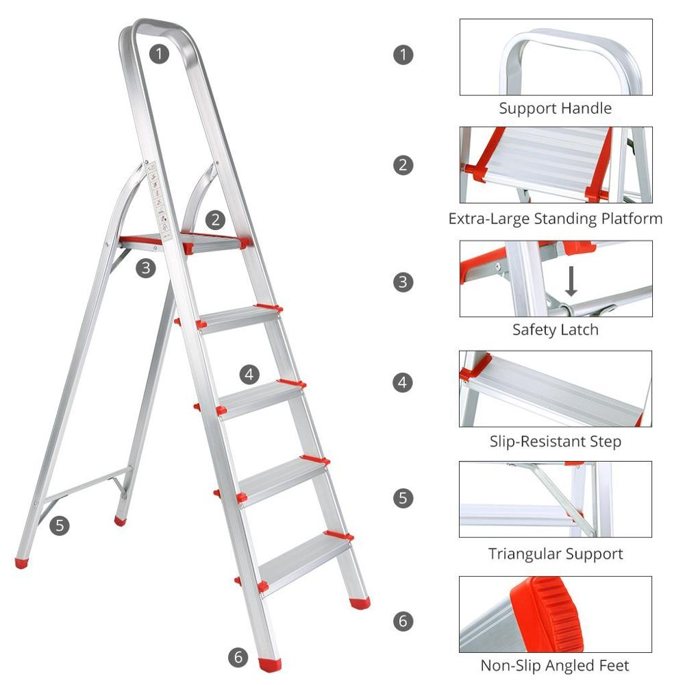Industrial Ladders,Folding and Moveable Type and Folding Ladders Feature aluminium step ladder