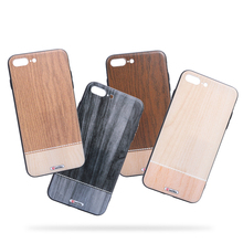 Wholesales China Wooden +TPU + PC Phone Case , Eco-friendly Bamboo Case Phone Cover For iPhone 7/8 ,7plus /8 plus